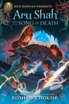 Aru Shah and the Song of Death by author Roshani Chokshi